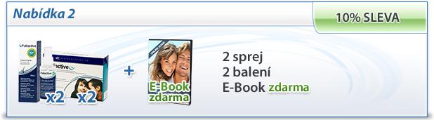 foliactive Pack: 2 foliactive Pills + 2 foliactive Pack + e-book zdarma.