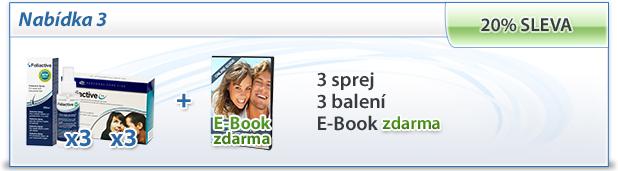 foliactive Pack: 3 foliactive Pills + 3 foliactive Pack + e-book zdarma.