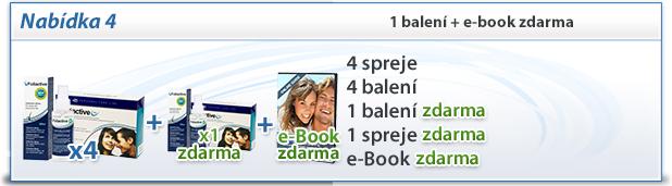 foliactive Pack: 4 foliactive Pills + 4 foliactive Pack + e-book zdarma.