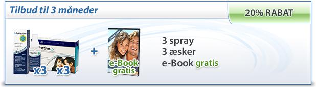 foliactive Pack: 3 foliactive Pills + 3 foliactive Pack + e-book gratis.