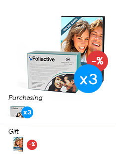 Foliactive Pills x3 .