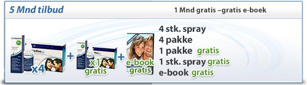 foliactive Pack: 4 foliactive Pills + 4 foliactive Pack + e-book gratis.